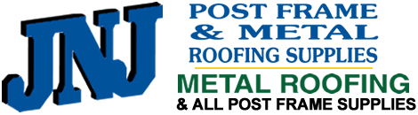 JNJ Post Frame & Metal Roofing Supplies | Metal Roofing